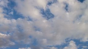 Time Lapse Seamless Loop Clouds stock video footage