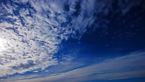 Time Lapse Sky Royalty Free Stock Photography