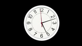 Time Lapse of Standard Time Clock vector illustration