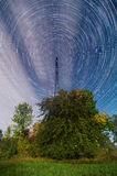 Time lapse Startrails Royalty Free Stock Photography
