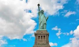 Time Lapse statua wolności, usa Swobody wyspy statua Timelapse, Miasto Nowy Jork zbiory