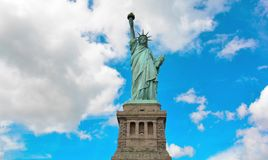 Time Lapse of Statue of Liberty, USA. Liberty Island Statue Timelapse, New York City. stock footage