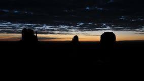 Time Lapse of Sunrise Monument Valley Utah - 4K. Scenic Sunrise at Monument Valley stock video footage