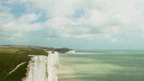 Time lapse, Sussex, England stock footage