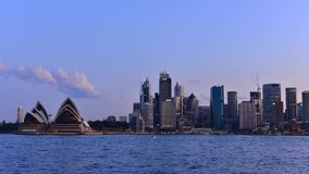 Time lapse Of Sydney stock footage