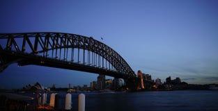 Time lapse of Sydney Harbor Bridge stock footage