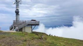 time lapse Torre de comunicaciones metrajes