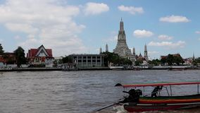Time lapse of traffic on the Chao Phraya river