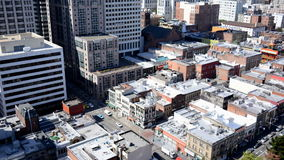 Time Lapse of Traffic in Chinatown San Francisco stock footage