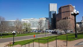 Time lapse from downtown Denver. A time lapse of the traffic in downtown Denver, Colorado stock video footage