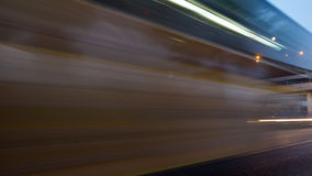 Time lapse,transport,abstract Royalty Free Stock Photo