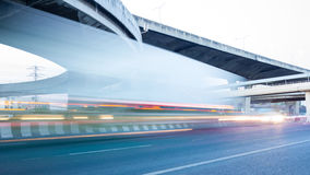 Time lapse,transport,abstract Royalty Free Stock Images