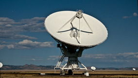 Time Lapse of the Very Large Array in New Mexico. Shot with a professional camera stock footage