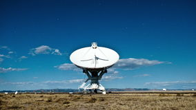 Time Lapse of the Very Large Array in New Mexico stock video