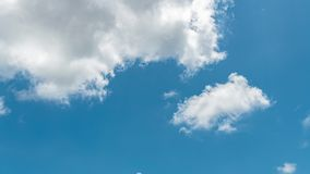 Time lapse Video of white cloud moving on blue sky in the afternoon. Time lapse Video of white cloud moving on blue sky in the afternoon stock video