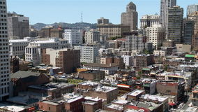 Time Lapse view of Chinatown San Francisco stock video footage