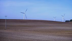 Time lapse of a windmills stock footage
