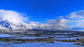 Time lapse winter landscape wide. Video of time lapse winter landscape wide stock video footage