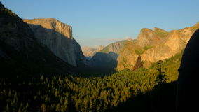 Time Lapse of Yosemite National Park at Sunset - 4K stock video footage