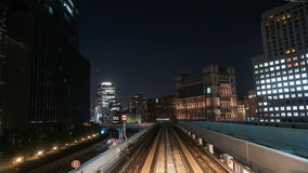 Time lapse from the Yurikamome Stock Photography
