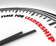 Time for Leadership - Clock Stock Images
