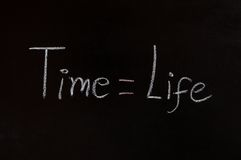 Time and life concept Royalty Free Stock Photo