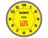 Time for life Royalty Free Stock Images