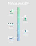 Time line infographic. Vector illustration Stock Photo