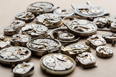 Time and сlock mechanisms. Stock Photography