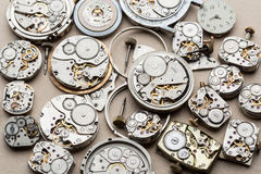 Time and сlock mechanisms. Stock Photo