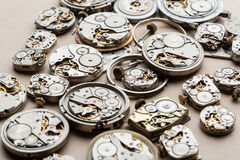 Time and сlock mechanisms. Royalty Free Stock Image