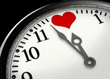 Time for love royalty free illustration