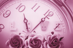 Time and love concept. Stock Photography