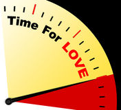Time For Love Message Meaning Romance And Feelings Stock Photography