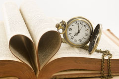time and love Royalty Free Stock Photo