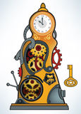 Time Machine vector illustration