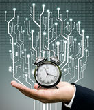 Time machine concept Royalty Free Stock Photos
