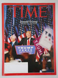Time magazine issued after 2016 Presidential election Stock Image