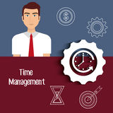 Time managament and business Royalty Free Stock Photo
