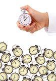 Time management. And deadlines concept - isolated Royalty Free Stock Images