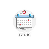 Time Management Business Timing Events Icon. Vector Illustration Royalty Free Stock Image