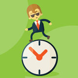 The time management Stock Images