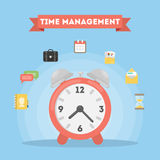 Time management concept. Stock Photo