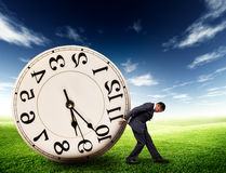 Time management concept Stock Image