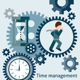 Time management concept Stock Photos