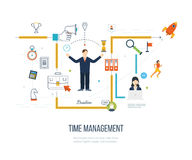 Time management concept planning, organization, working time Stock Photo