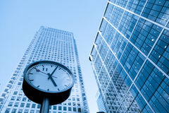 Time management concept Skyscraper Business Office Stock Photography