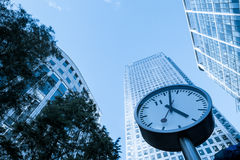 Time management concept Skyscraper Business Office Royalty Free Stock Photography
