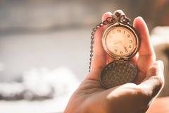 Time management. Concept. vintage tone Stock Images