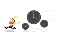 Time Management concepts Stock Photo